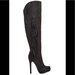 Just Fab Sondre Over the Knee Boot